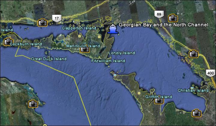 Cruising Georgian Bay Boat & Yacht Directory - Marinas ... on nottawasaga bay, muskoka map, mobile bay map, bay of fundy map, honey harbour map, queen's university map, great lakes map, thunder bay district map, lake huron, lake michigan-huron, windsor map, montreal map, ontario map, wasaga beach map, waterton lakes national park map, georgian bay, ontario, ottawa river map, thunder bay, village at blue map, powassan map, french river, bruce peninsula map, bay of quinte map, quebec city map, lake nipissing, straits of mackinac, bay of islands map, st. john's map,