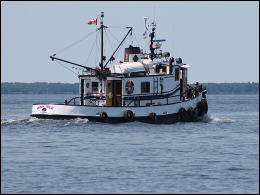 Equipped Tug